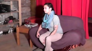 Crazy Teen Does Blowjob At The Casting