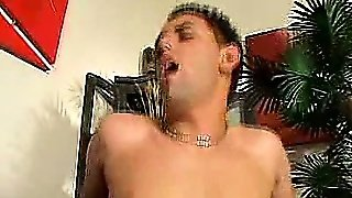 Cock Plugged Shemale