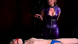 Brunette Slave Is Getting Tortured And Spanked By Her Mistress