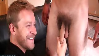 Huge Cock Cum Swallowing