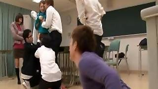 Ai Haneda Amazing Japanese School Teacher Has Intercourse Part4