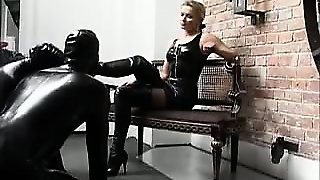 Bdsm, Blonde, Latex, Fetish, Femdom, Threesome