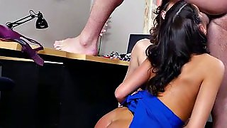 Hunky Teacher Bangs Two Stockinged Milf Bisexuals In A Threesome