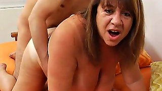 Big Titted Granny Fucked Good