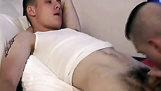 Straight Guy Cums With A Gay Guy
