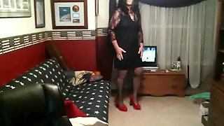 Strutting Crossdresser