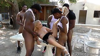Outdoor Gang Bang