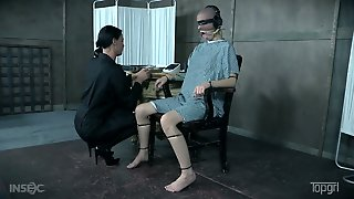 Bald Headed Hooker Abigail Dupree Is Punished By One Kinky Mistress